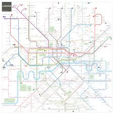 New York Rail Map by London Tube And Rail Maps