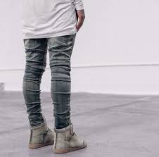 mens biker boots fashion wholesale streetwear mens ripped biker jeans homme men u0027s fashion