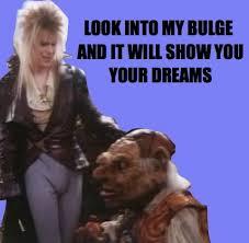 David Bowie Labyrinth Meme - dailyreminder
