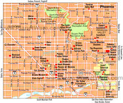 phx map 14 top tourist attractions in planetware