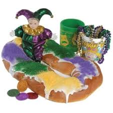 order king cakes online rouses markets king cake deluxe package