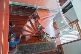 Timber Handrails And Balustrades Universal Series Enzie Spiral Stairs