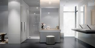 interior awesome black and white bathroom decoration using small