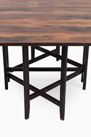 rosewood dining room furniture model 4 rosewood dining table by bendt winge for kleppes for sale