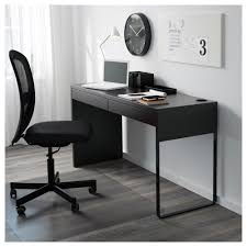 Small Desk Table Ikea Ikea Office Desk Micke Black Brown Ikea Onsingularity
