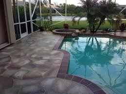 florida patio designs concrete pool patio ideas elegant concrete designs florida patio