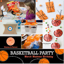 basketball party ideas march madness ideas for a basketball themed boy s birthday party