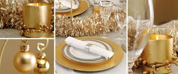 New Years Table Decorations What U0027s Your New Year U0027s Eve Party Decor Plan