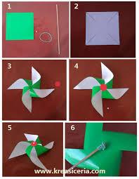 cara membuat origami kincir angin cara mudah membuat kincir angin dari kertas kreasi ceria