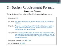 requirements engineering overview senior design don evans ppt