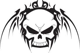 free skull designs to print clipart library clip