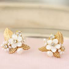 gold earrings for wedding 2365 best bridal jewelry accessories images on