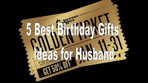 5 best birthday gifts ideas for husband boyfriend