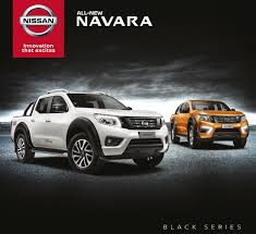 nissan black etcm introduces nissan navara black series autoworld com my