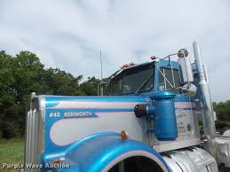 kenworth w900l for sale in canada 1982 kenworth w900 semi truck item db5808 sold august 2