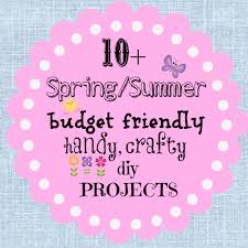 Diy Spring Projects by Spring And Summer Time Crafting Projects Debbiedoos