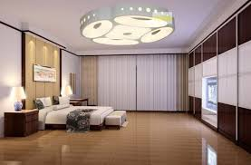 Modern Light Fixture Bedroom Impressive Muted Bedroom With Modern Light Fixture And
