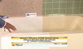 Miracle Method Bathtub Miracle Method Featured On The Today Show Miracle Method Surface