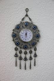 Designer Wall Clock Turkish Evil Eye Wall Clock By Www Grandbazaarshopping Com Evil