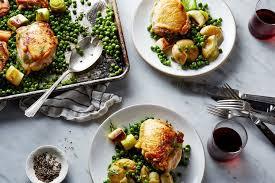 Nigella Lawson s Chicken and Pea Traybake Recipe on Food52