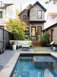Backyard Pool Ideas by How To Fit A Pool Into A Small Backyard Backyard Small Pools