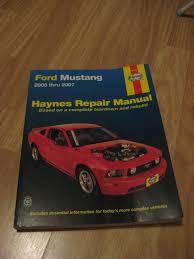 2005 ford mustang repair manual ford mustang 2005 2007 haynes repair manual