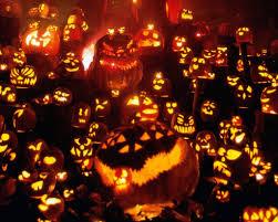 tiled halloween background cute halloween background