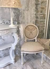 Rideaux Toile De Jouy Chaise Médaillon Restaurée Lin Clair Toile De Jouy Rayures