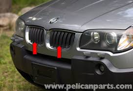 pelican technical article bmw x3 radiator grille replacement