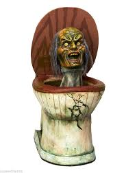 zombie toilet walking dead halloween prop haunted house bathroom