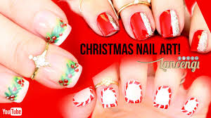diy cute u0026 easy christmas nail polish designs instagram