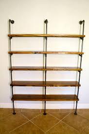 industrial pipe bookshelves pipe shelving unit bookshelf