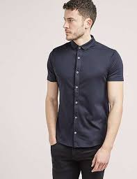 uk mens polo shirts armani jeans button through polo shirt blue