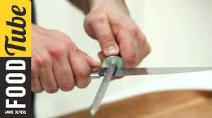 sharpening for kitchen knives how to sharpen knives oliver s home cooking skills