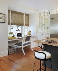 alcove desk ideas home office transitional with built in desk