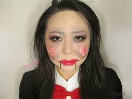 Saw Halloween Makeup by Halloween Makeup Tutorial Billy The Puppet Made Easy Video