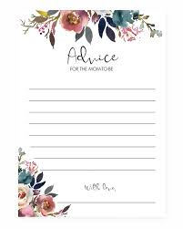 advice for cards boho advice cards printable instant littlesizzle