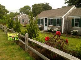 cottage style backyards cottage style mixed native plant border and foundation in chatham