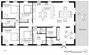plan de maison plain pied 4 chambres plan maison plain pied 1 chambre awesome maison plain pied 4
