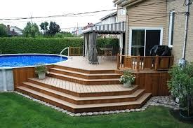 Patio Deck Ideas Backyard Great Deck Designs Edmworld Club
