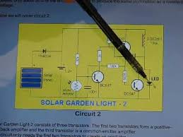 solar garden light to aa battery charger simple conversion youtube