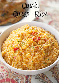 Mexican Side Dishes For Thanksgiving Quick Queso Rice Rice Recipes Cheese Soup And Rice