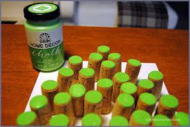 wine cork trees sparkles of