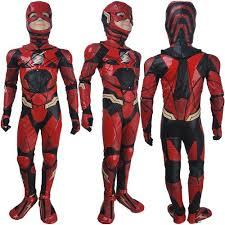 Battlestar Galactica Halloween Costume Kids Boys Flash Barry Allen Cosplay Halloween Costume