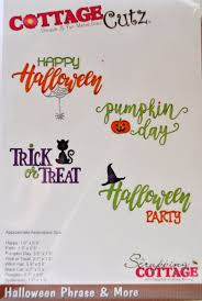 halloween dies sugarshine designs