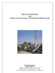 report on study of electrical equipments in power system