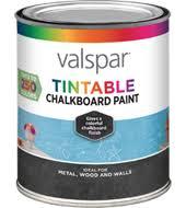 valspar tintable chalkboard paint available colors