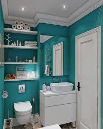 bright bathroomeas fascinating contemporary teal wall color scheme bright bathroomeas fascinating contemporary teal wall color scheme with wooden shelves design light yellow bathroom category