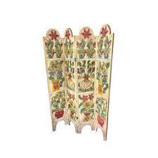 Folding Room Divider Vintage U0026 Used Screens Chairish