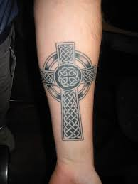 forearm celtic cross tattoos forearm celtic cross circle